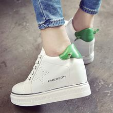 Pixie Pair - Platform Hidden Wedge Sneakers