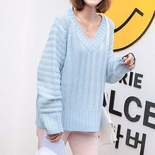 Queen Bee - V-Neck Oversized Sweater