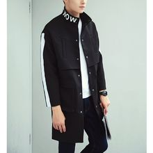Bay Go Mall - Lettering Trench Coat