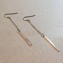 Nocturne - Bar Single Drop Earring