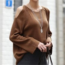 CHICFOX - Cutout-Shoulder Raglan-Sleeve Knit Top