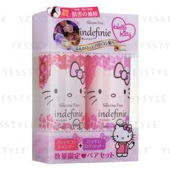 Sanrio - Indefinie Hello Kitty Shampoo and Conditioner Set