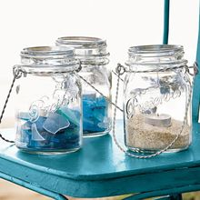 Thula Design - Glass Jar Candle Lantern