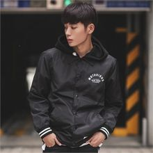 Superstar.i - Contrast-Trim Snap-Button Lettering Jacket
