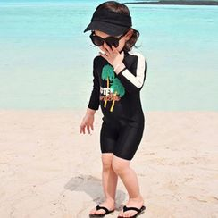 Moonrise Swimwear - Kids Long-Sleeve Swimsuit