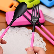 Wild Bamboo - Cutlery Set: Case + Fork + Spoon Chopsticks
