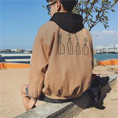 Soulcity - Embroidered Bomber Jacket