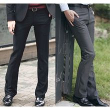 Bay Go Mall - Straight Fit Dress Pants