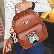 Bag Affair - Owl Faux Leather Backpack