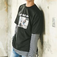 STYLEMAN - Layered Print T-Shirt