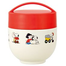 Skater - Snoopy Thermal Café Bowl Lunch Box