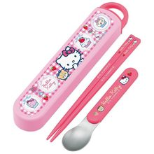 Skater - Hello Kitty Spoon & Chopsticks Set