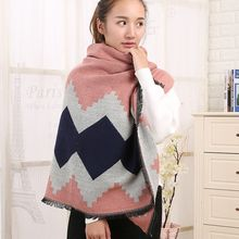 Rita Zita - Patterned Winter Scarf