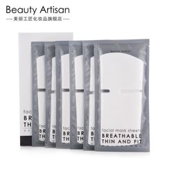 Beauty Artisan - Compressed Facial Mask - 60 Pcs