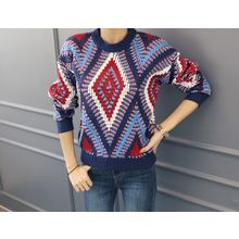 DANI LOVE - Crew-Neck Patterned Sweater