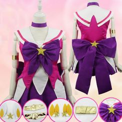Cosgirl - League of Legends Star Guardian Lux Cosplay Costume